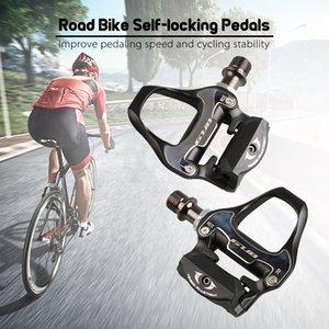 GUB RD2 de travamento automático Pedal Pedal Mountain Road bicicleta Locks pedais MTB bicicleta de alumínio Peças de bicicleta