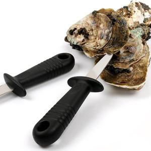 Гребешок нож Корпуса открывалка Oyster нож Свежие устрицы Морепродукты Open Инструмент из нержавеющей стали Профессиональный вытаскивания Моллюски открывалка LXL1164
