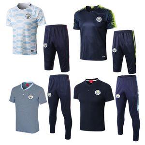 Thailandia 2019 FC Manchester city soccer jersey De Bruyne MENDY maglie da calcio 2019 2020 MAN KUN AGUERO CITY maglia da calcio maglia BERNARDO SILVA divise da