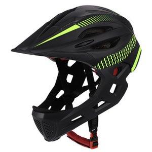 С заднего света Унисекс детей Защитные Велоспорт Съемные велосипед шлем Открытый анфас Balance Chin Riding Safe