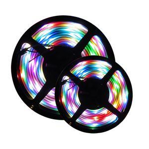 WS2811 LED Pixel luci di striscia DC12V SMD5050 RGB 30 / 60LEDs / M Pixel nastro 2811 LED IC esterno, 1 IC di controllo 3 LED