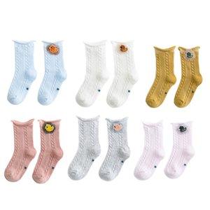 Mesh Thin Cotton Children's Socks Cartoon Accessories Girls Tube Socks Baby Loose Lace
