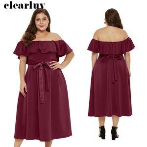 Sexy Robe dos nu rom Plus Size Robe courte Femmes Night Party 2019 T033 Vestidos De Gala encolure bateau Volants PZipper robe de bal