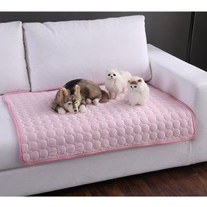 Yıkanabilir Yaz Köpekler Kedi Köpek Kulübesi Pad için Soğutma Mat yatak Nefes Sandık Ped Taşıyıcı Çanta için Uyku Mat Pet Kendini Serin Mat