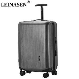 Popular fashion rolling luggage 20 26 inch carry on box men travel suitcase women trolley luggage suitcase