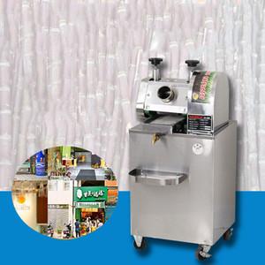 Şeker kamışı Makine Ticari Şeker kamışı Suyu Makinesi Paslanmaz Çelik Tam Otomatik Elektrikli Ticari Şeker kamışı Makinesi Dikey Tablo