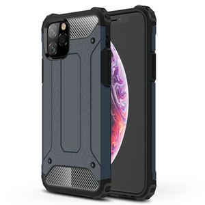 Steel Armor Full Coverage Shockproof Hybrid Defender Robot Combo Hard Plastic PC+TPU Cover Case For iPhone 11 Pro Max XS XR X 8 7 6 6S Plus