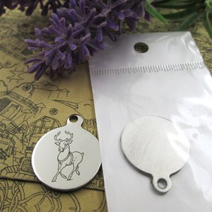 """40pcs--""""deer Christmas""""stainless steel charms more style for choosing DIY Charms pendants for necklace"""