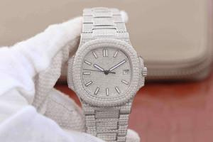 N platino donna progettista orologi di lusso 5719 / 10g-010 orologi orologio di diamanti delle donne montre de luxe Montres de Luxe pour femmes
