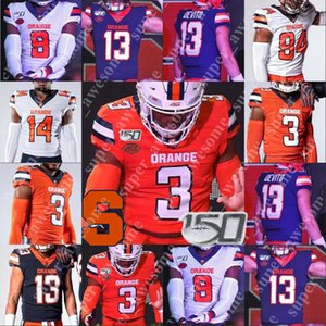 Syracuse Orange Football Jersey Kevin Abrams Donovin Darius Eric Dungey Chandler Jones Príncipe-Tyson Gulley Terrel Hunt Ryan Nassib Art Monk