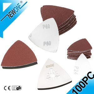 NewOne SS Triangle Lame de scie Poncer doigt multifonction lames de scie oscillantes pour le polissage du bois Accessoires Électroportatif