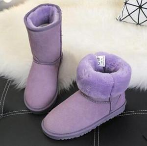 Hot 2019 modische Art WGG 5281 Aufladungs-Kind-Junge Mädchen Kinder Baby warm Schnee Stiefel Australian Qualität Jugendkursteilnehmer Schnee Winterstiefel