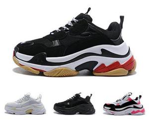 مصمم أزياء باريس 17FW الثلاثي-S 2020 أحذية أبي الثلاثي S احذية منتديات فاخرة للنساء بيج أسود عارضة الثلاثي S أحذية رجالية 36-45