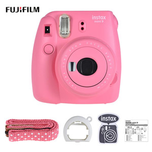 Monorail Fujifilm Instax Mini 9 Camera Film Camera Photo Instant with Pop-up Lens Filter Free Shipping
