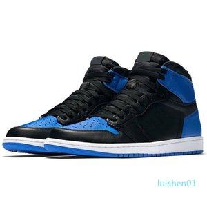Wholesale Trainers Basketball Shoes 1s 1 Mens womens 2020 New Chicago with black mark top 3 black storm Blue Designer Sneakers l01
