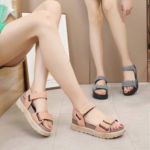 Fairy2019 Xia Woman Sandals Pingdi Student Joker Tiempo libre Zapatos de playa Brida Fairy Cool Shoe