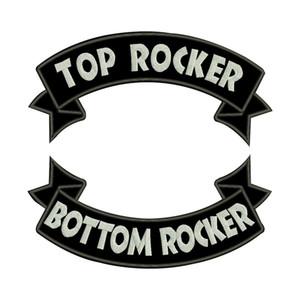 ПОЛЬЗОВАТЕЛЬСКИЙ рокер патч вышитые аппликация швейная этикетка панк байкер патчи одежды наклейки 2 шт. / Лот