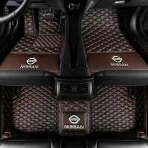 Per Nissan Altima 2005-2020 auto Tappetini posteriore della parte anteriore Liner Auto di lusso impermeabile tappetino per tutte le stagioni