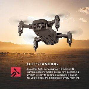 Foldable RC Drone LF606 Mini Wifi FPV Optical Flow Position Remote Control Aircraft 4K HD Camera Aerial Four-axis Aircraft Aeria