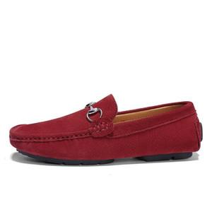 남성은 드레스 신발 체인 신발 여러분이 남성 D02 도보 신발 캐주얼 편안한 숨 신발 여행 매듭