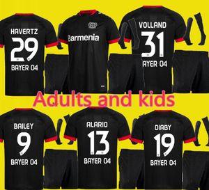 Взрослые и дети 20 21 Leverkusen Soccer Jersey L. BENDER 2020 2021 Bayer 04 Leverkusen HAVERTZ Jersey DEMIRBAY ALARIO VOLLAND футбольная рубашка