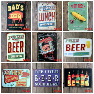 Muestra de la lata de cerveza Campeón del arte de la pared de chapa retro Signos Antiguo pared del metal de la vendimia barbacoa Pintura Art Bar Pub restaurante la decoración del hogar DBC DH2593