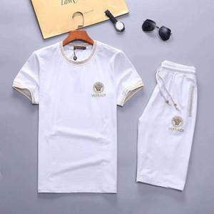 Tasarım Erkekler Tracksuits Suit Erkek Medusa Casual Tişörtü Eşofman Koşu koşu Markalar Kıyafet 19ss Yeni Kazak Suits
