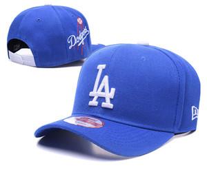 2020 neue Ankunfts-Männer volle schwarze Farbe Golf Visor Snapback Cap Königs LA gestickte Logo Sportmannschaft Baseball justierbarer Hut Marken