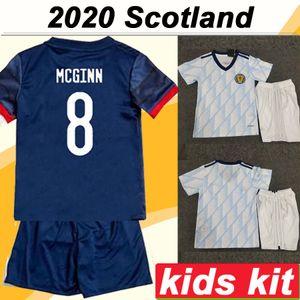 2020 McGREGOR GRIFFITHS ROBERTSON Kids Kit Fußball-Trikots European Cup Schottland Shankland FINDLAY McGinn Child Home Away Fußball-Hemden