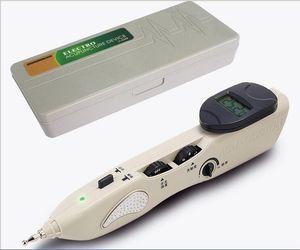 Новый Стимулятор CE LCD Электронные Автоматическая Иглоукалывание иглы Pen Electro Иглоукалывание T.E.N.S. устройства и детектор точки