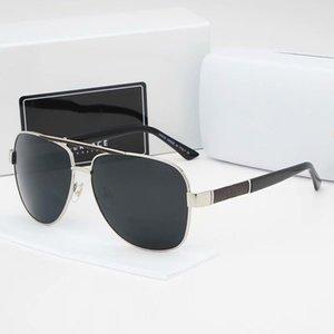 Designer Sonnenbrille polarisierte Aviation Sonnenbrillen für Männer Frauen Mann Driving Gläser Reflektions-Beschichtung Brillen Night Vision Driving Spiegel