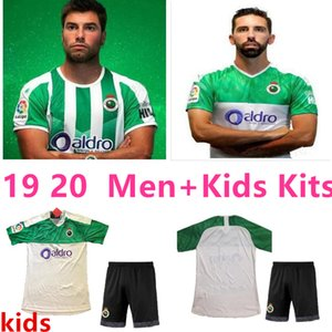 19 20 Racing Santander soccer jerseys home third 2019 2020 camisetas de fútbol alexis Zidane D. Carmona Rodriguez football shirts kids kits