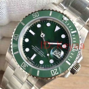 Lunette Céramique Mens New Green 2813 Mouvement automatique en acier inoxydable mécanique Montre Homme Sport Auto-vent Montres-bracelets usine u1