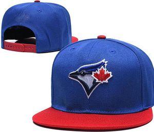 Discount Snapback Blue Jays Cap Logo hat Strapback Training Camp cap Adjustable Baseball Snapbacks American City hat Cap Outlet