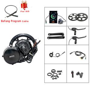 Tongsheng TSDZ2 DIY Conversion Ebike Kit Mid Drive Motor Torque Sensor 48V 500W LCD Display High Speed Electric Bike Motor