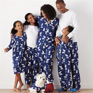 Emmababy ours polaire de Noël Fée de Noël Famille Pyjama ADULTE enfants vêtements de nuit Pjs Photgraphy Prop Vêtements ensemble