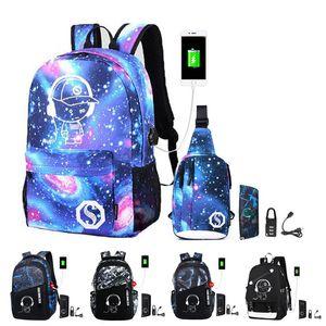 2020 new school bags for teenage boys children bookbag set kids primary school backpack waterproof schoolbag mochila black Y200706