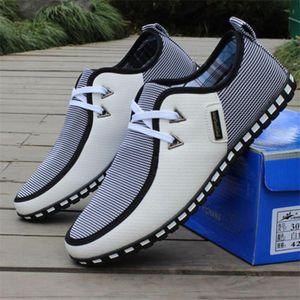 2020 Новая мода Мужская повседневная обувь Lace-Up износостойкое Мужской Обувь Мужчины Лето дышащие обувь Отдых Мужчины вождения