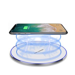15W Fast Wireless Charger FDGAO QI Quick Charging Wireless Phone Charger For Samsung Galaxy S10+ S10e Note9 by free shipping