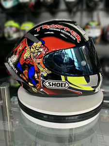 Shoei Full Face X14 93 MOTEGI Hikman Márquez Casque de moto moto de course motocross voiture homme équitation casque NOT-ORIGINAL-casque