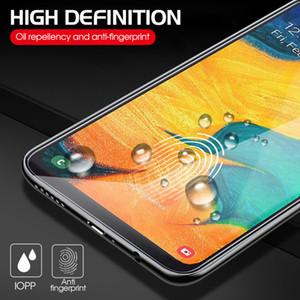 10 piezas de vidrio templado 2.5D 9h para Samsung Galaxy a10a20 A20 e A30 A40 A50 A60 A70 A80 película protectora a90