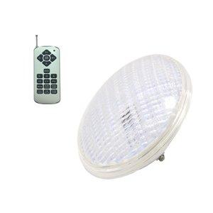luz para piscina 54W PAR56 ampoule lampe de piscine 12V sous-marine RGB hauteur IP 68 plastique étanche pour remplacer l'halogène 300W