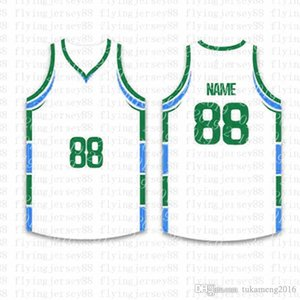 Top Custom Basketball Jerseys Mens Embroidery Logos Jersey Free Shipping Cheap wholesale Any name any number Size S-XXLjh