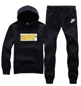 Yüksek Kaliteli Tasarımcı Eşofman Erkekler Lüks Ter Takım Elbise Sonbahar Marka hoodie Jogging Yapan Ceket + Pantolon Suits Setleri Sporting KADıN Takım Hip Hop Setleri