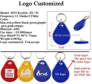 125khz Bantlar sizin Baskı grubu yakınlık etiketlerini Anahtarlık IC / Kimlik 13.56MHz S50 anahtarlar NFC Tag RFID Kart İçin Erişim Kontrol Sistemi Keyfobs rfid