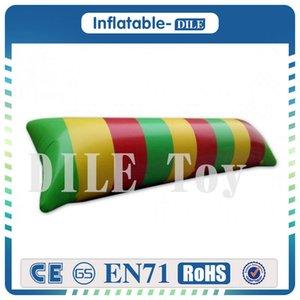 Çocuklar için Ücretsiz Kargo 7m * 3m 0.9mm PVC Şişme Su Yastık / Su Blob Jump Şişme Su Blob