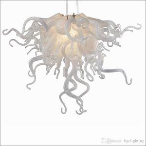 Рождественские украшения стеклянный Привесной свет водить выдувного стекла Бесплатная доставка AC светодиодов выставочный зал лобби красочные стеклянные люстры освещение