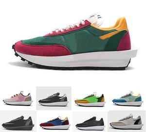 2019 Nuevo Sacai LDV Waffle Daybreak Trainers Zapatillas de deporte para hombre para mujer Diseñador de moda Breathe Tripe S Sports Running Shoes Tamaño Eur36-45