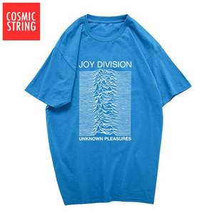 Mode plomb 100% coton été T-shirts hommes Joy Division Unknown punk Pleasure COOL T-shirt roche hippie t-shirt tee shirts