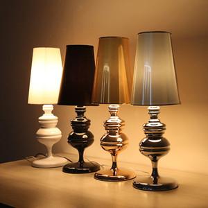 illuminazione camera da letto Lampada da tavolo moderna retrò scrivania luce lusso Hotel Villa scrivania soggiorno comodino luci led da tavolo